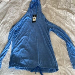 Light weight Indigo hoodie from under armour